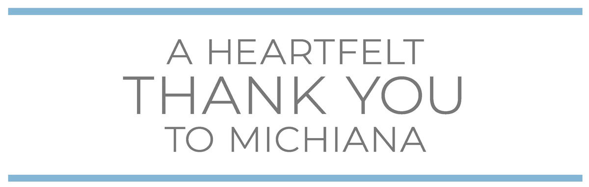 A Heartfelt Thank You to Michiana